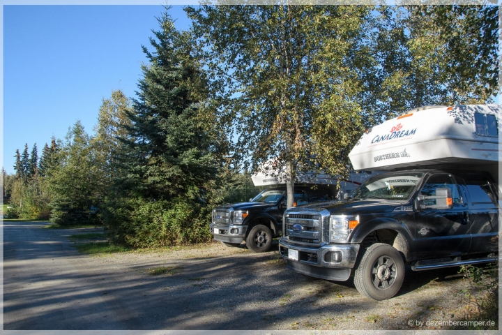 Campground in Fairbanks