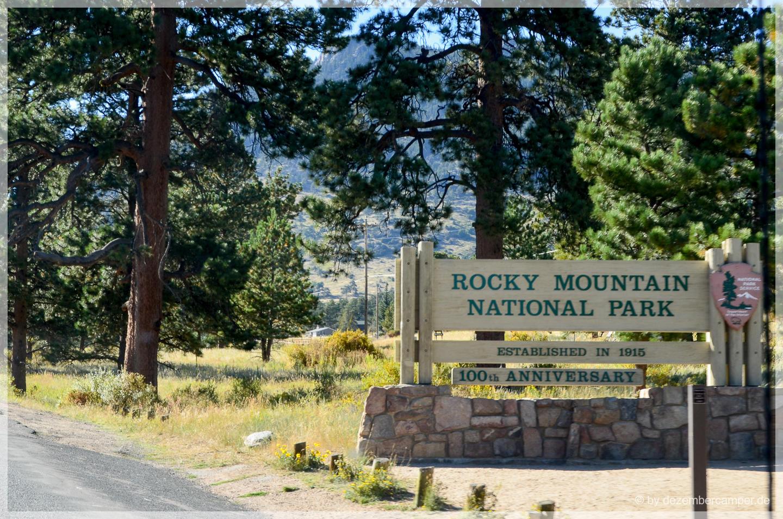 Rocky Mountain NP - Eingang