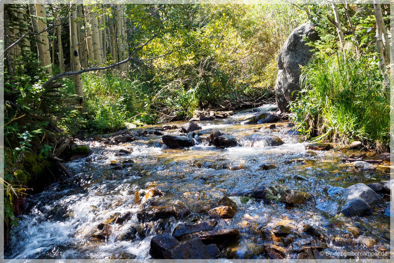 Wildbach im Rocky Mountain NP