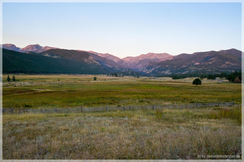 Sonnenaufgang im Rocky Mountain NP