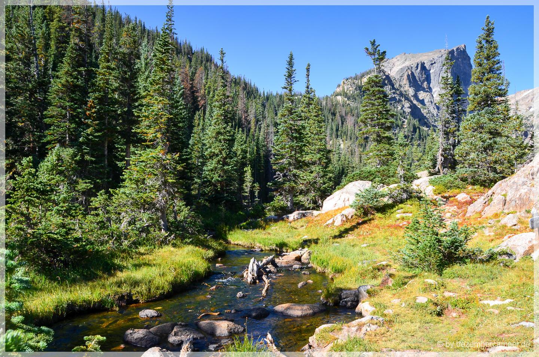 Wandern im Rocky Mountain NP
