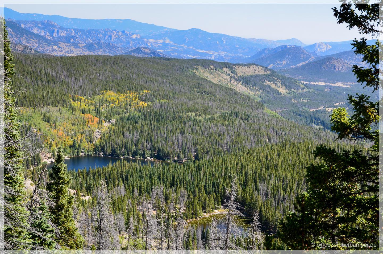Blick auf den Dream Lake
