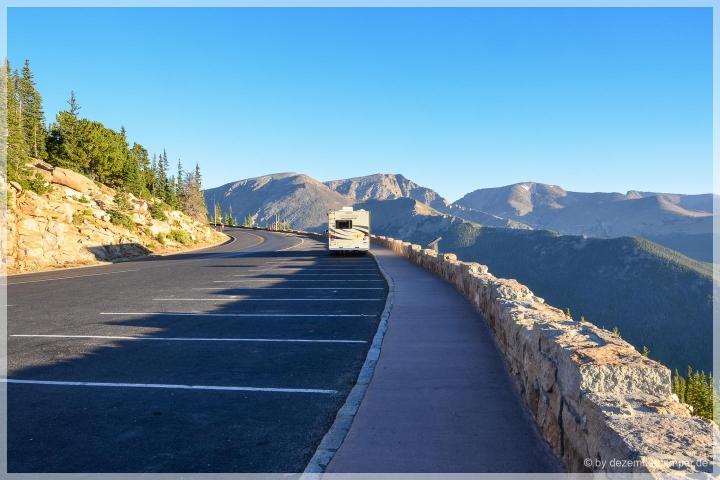 Trail Ridge Road - Rainbow Curve