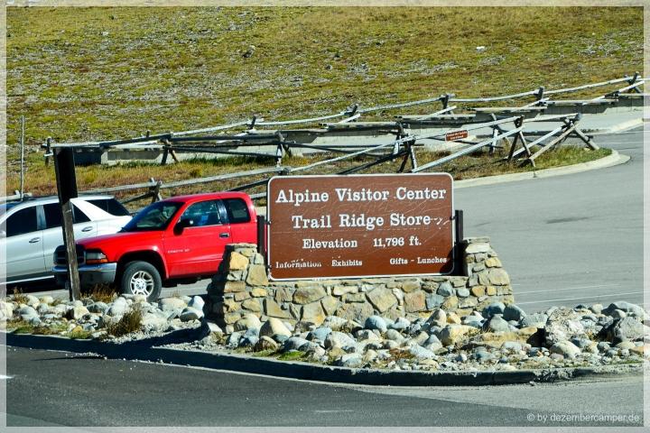 Trail Ridge Road - Alpine Visitor Center