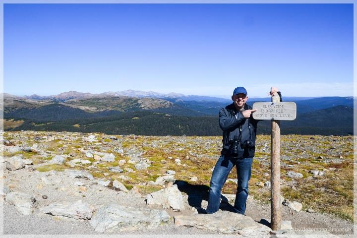 Trail Ridge Road - Alpine Trail - 12.005 feet