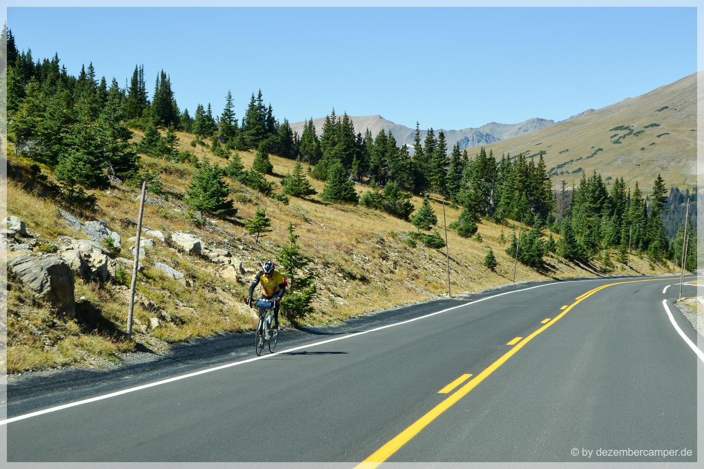 Trail Ridge Road - kein Spass mit dem Rennrad