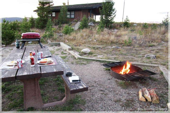 Green Ridge Campground - Lagerfeuer