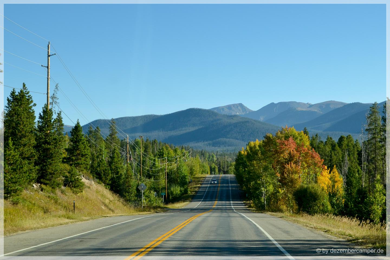 nochmal zurück in den Rocky Mountain NP