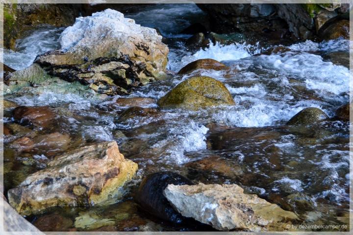 Sinks Canyon SP - Wildwasser