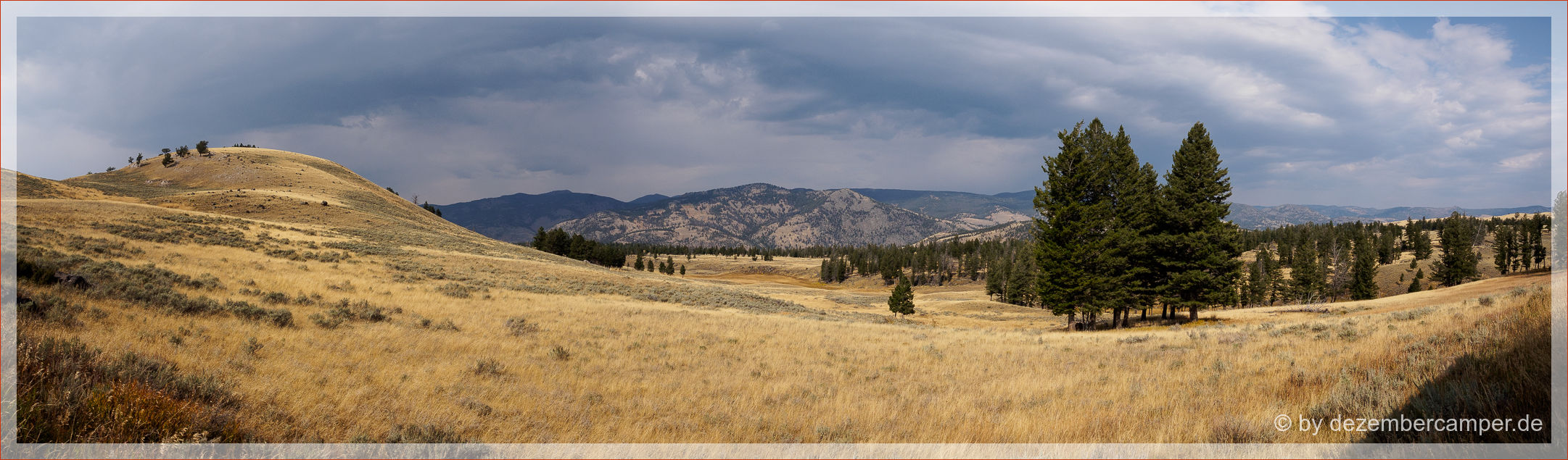 Yellowstone NP - es zieht sich sehr zu