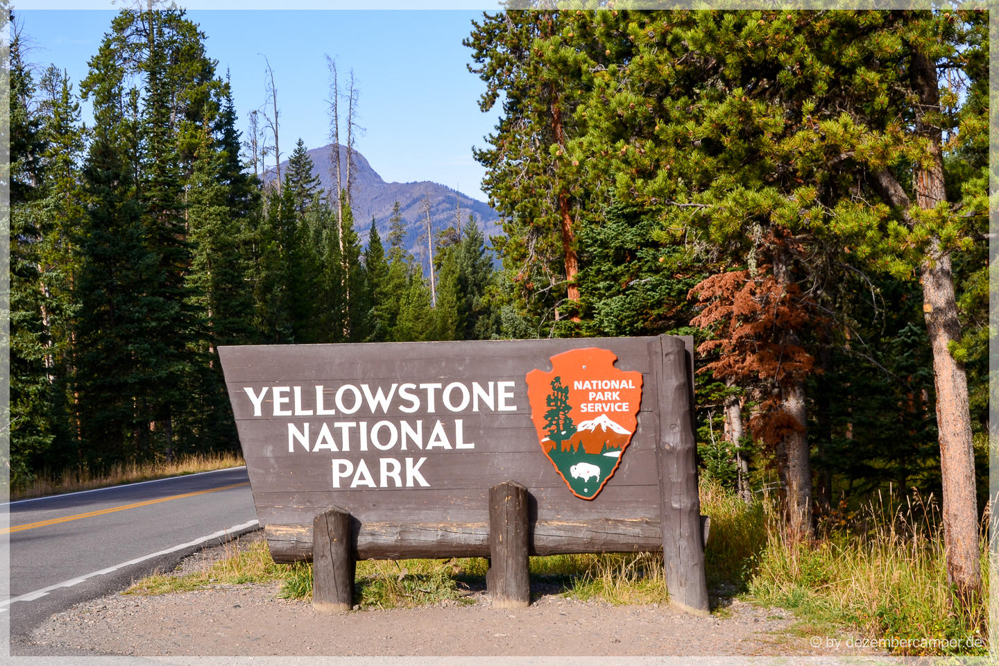 Welcome To Yellowstone NP
