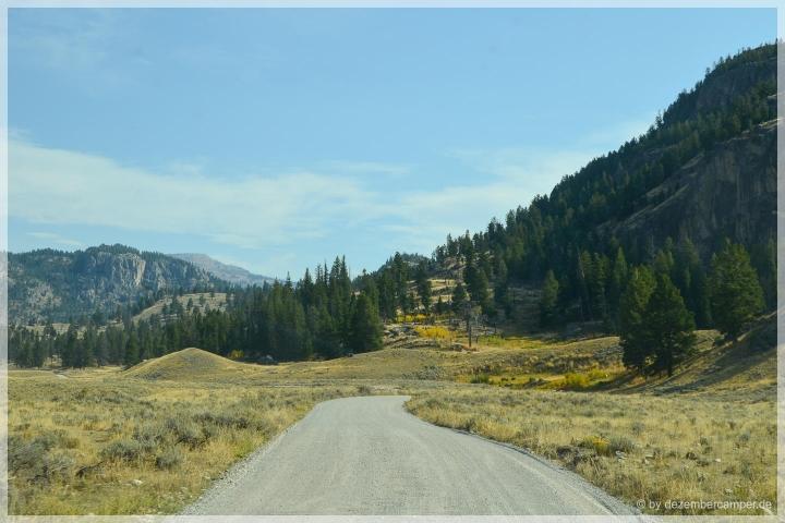 Yellowstone NP - Gravel Road