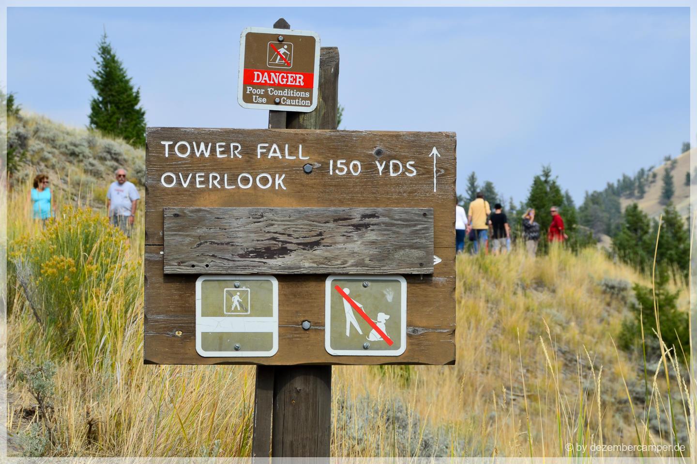 Yellowstone NP - Tower Falls