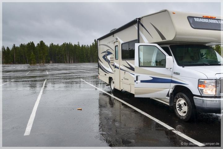 Yellowstone NP - Sauwetter