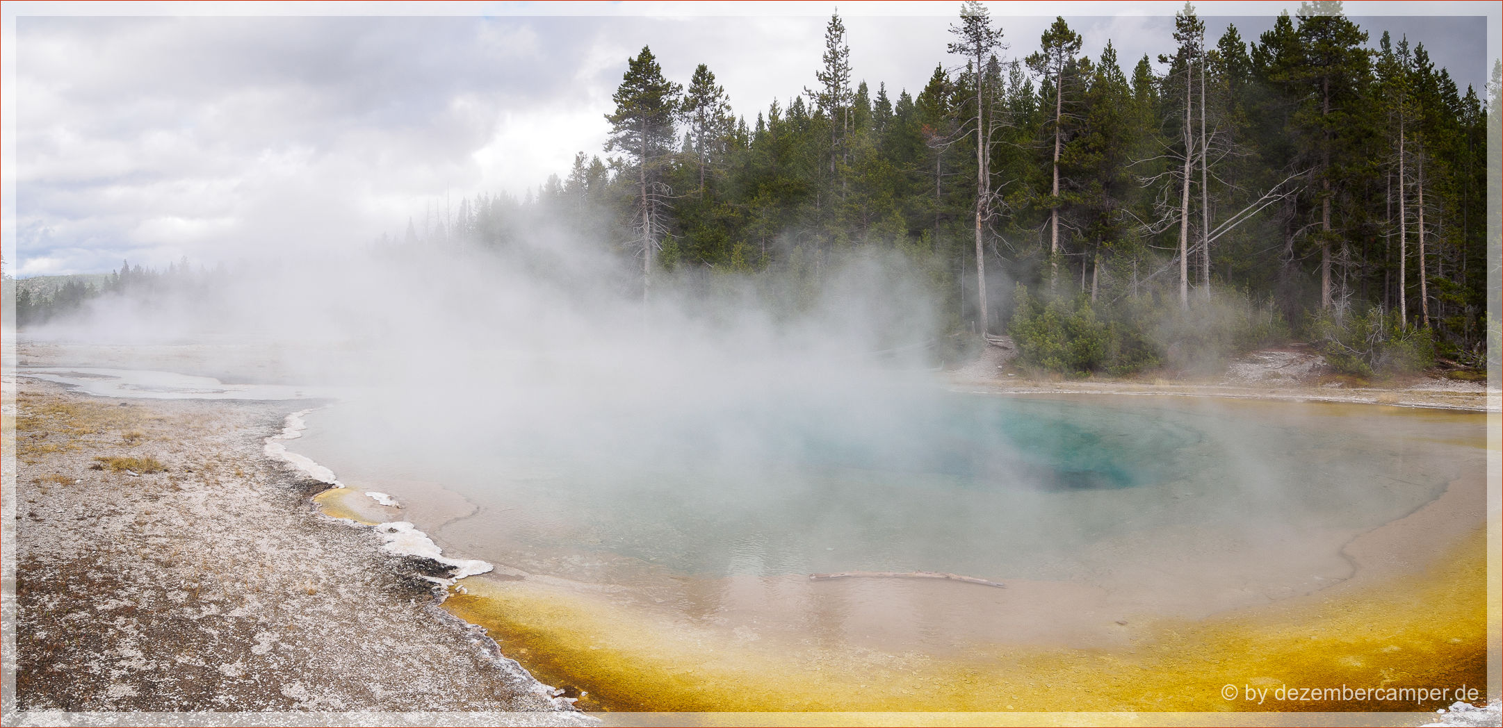 Yellowstone NP - Mirror Pool