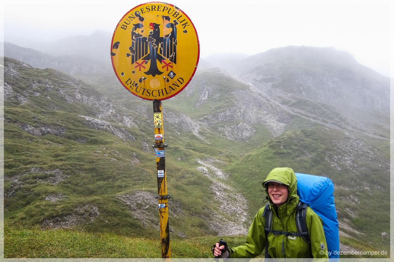 Grenze nach Österreich