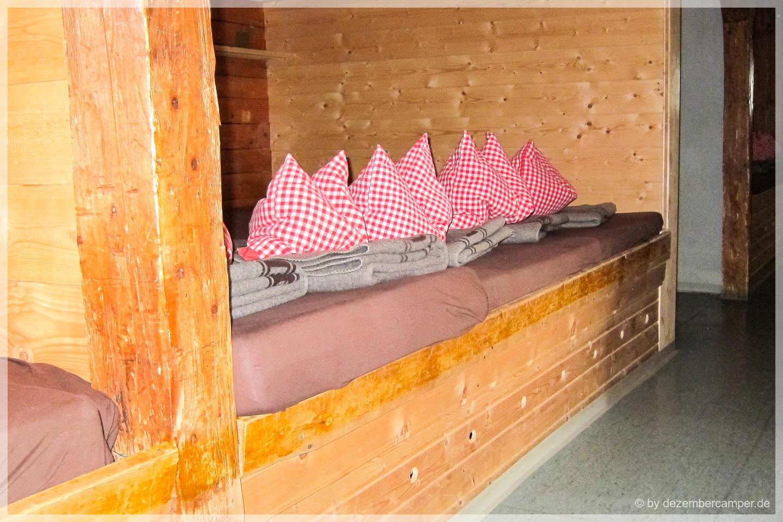 Schlafsaal Memminger Hütte