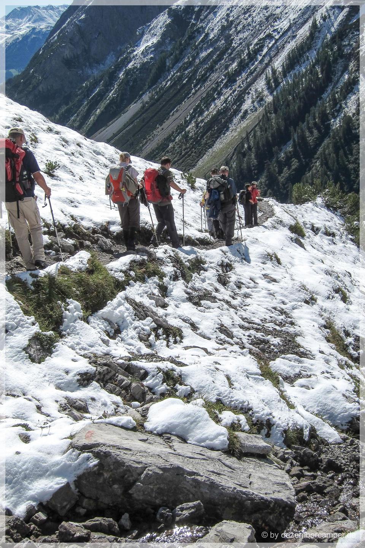 Abstieg zur Oberlochalm