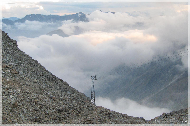 Blick von der Similaun-Hütte