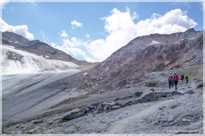 Weg zur Similaun-Hütte