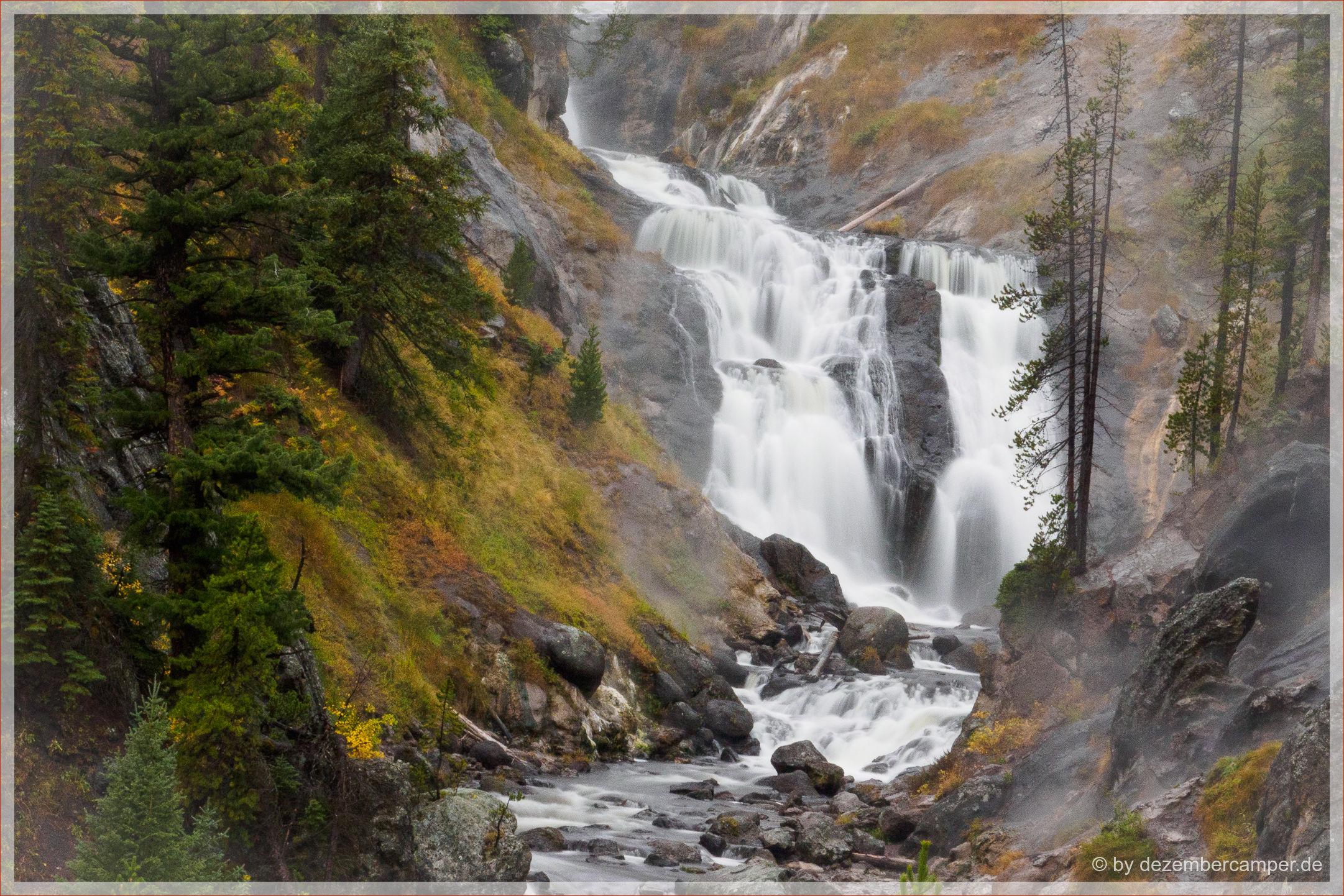 Yellowstone NP - Fairy Falls Trail