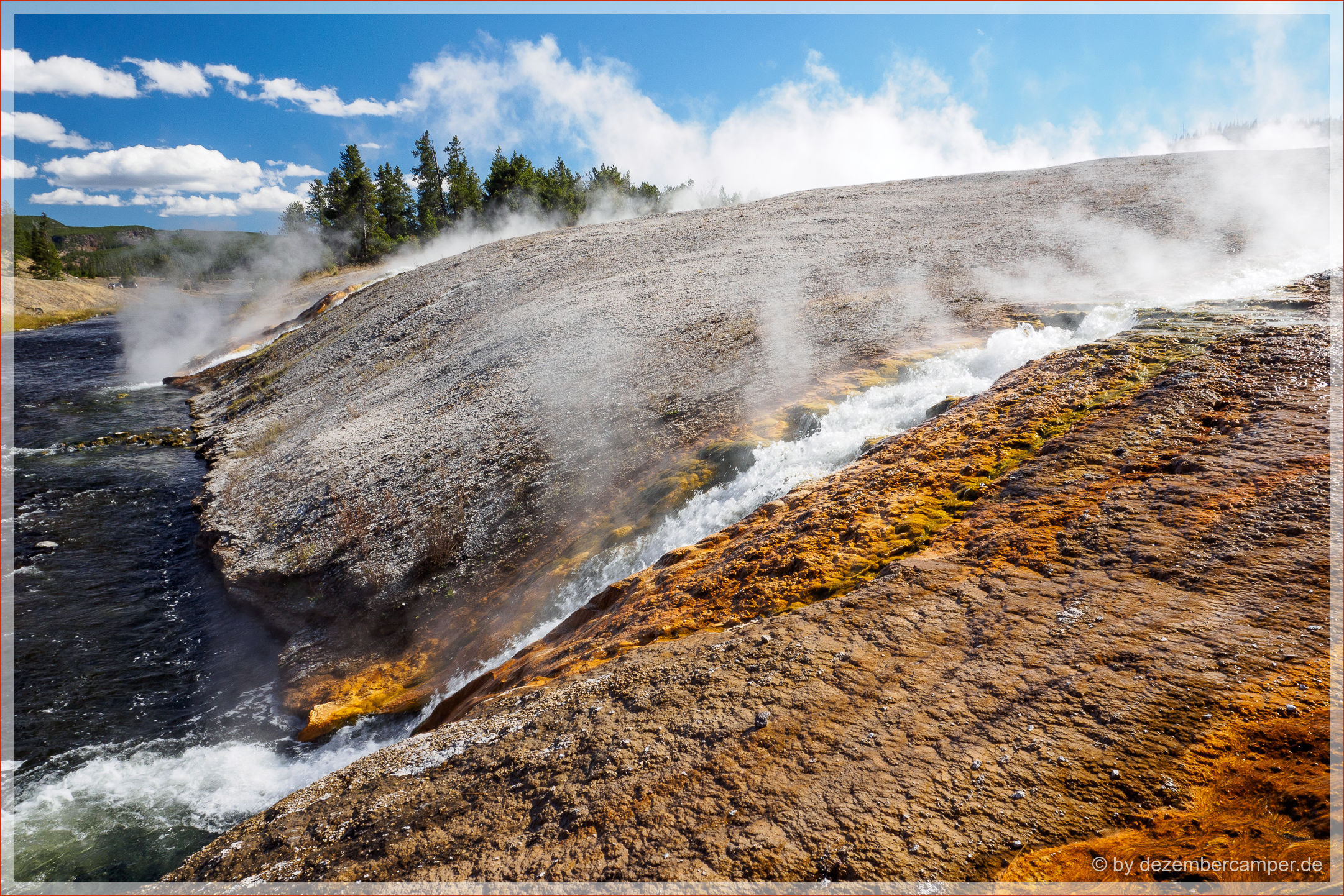 Yellowstone NP - Firehole River