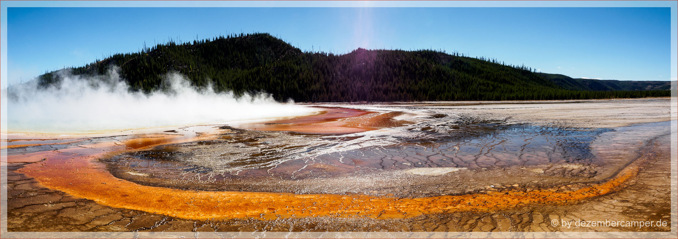 Yellowstone NP - Grand Prismatic Spring