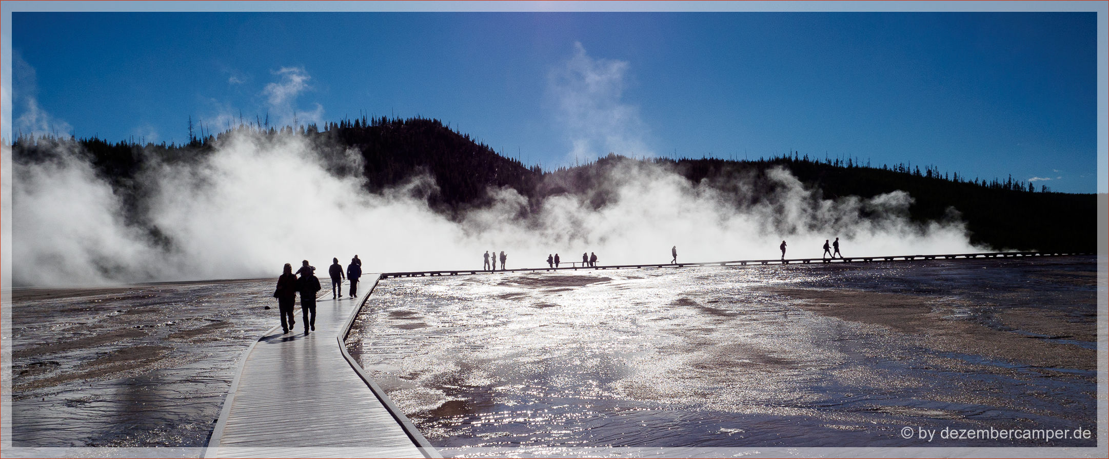 Yellowstone NP - Midway Geysir Basin
