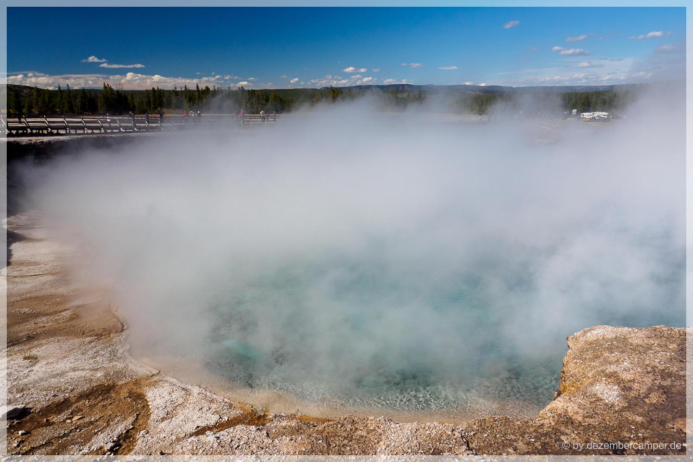 Yellowstone NP - Excelsior Geysir