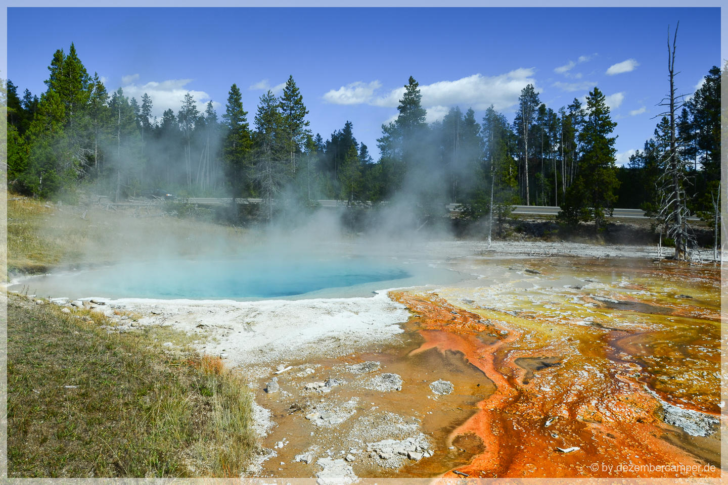 Yellowstone NP - Fountain Paint Pots