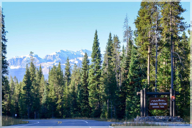 Welcome To Grand Teton NP