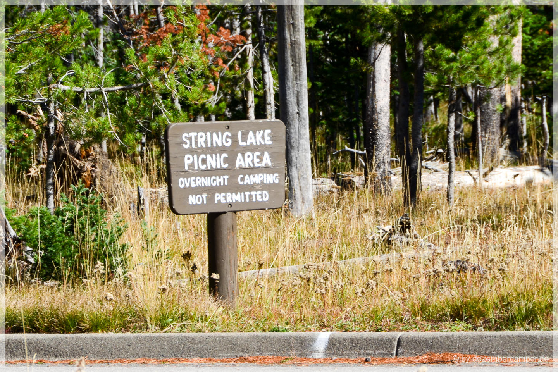 Grand Teton NP - String Lake PIcnic Area