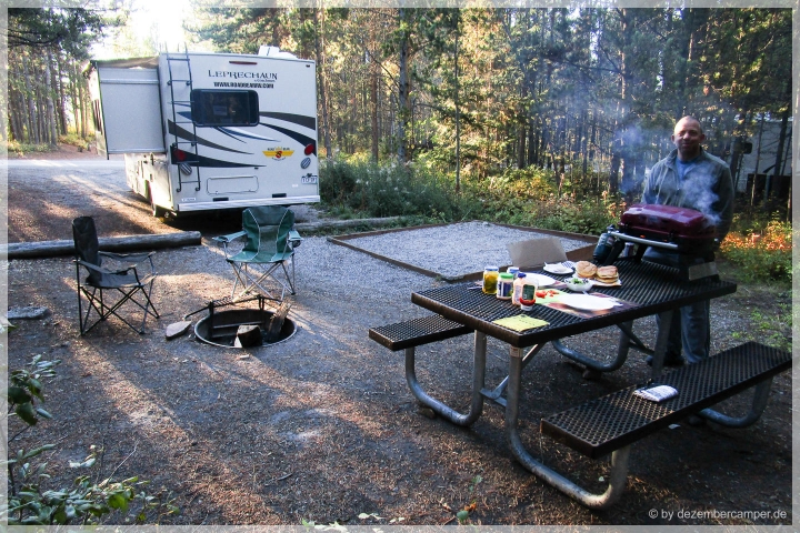 Grand Teton NP - Camping