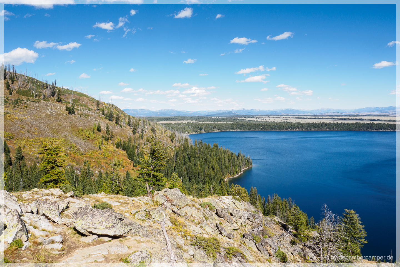 Grand Teton NP - Inspiration Point