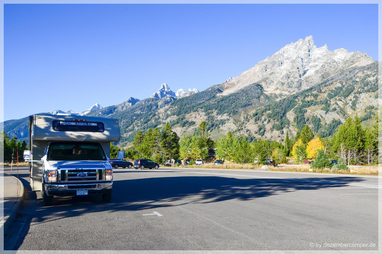 Grand Teton NP - Trailhead