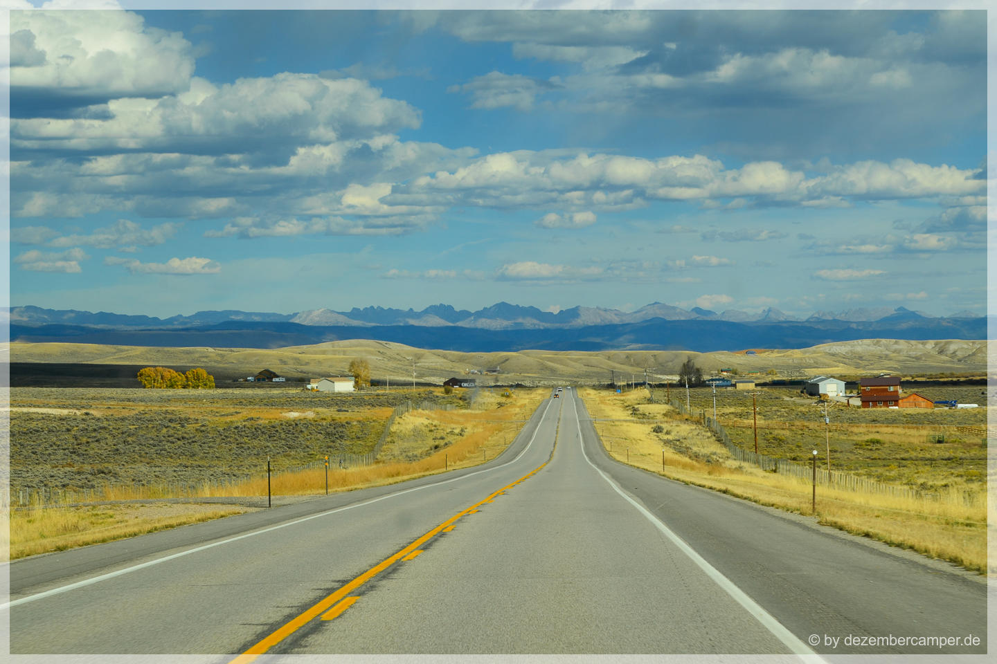 Wyoming - On the road