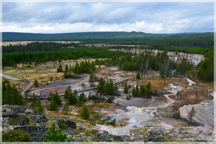 Yellowstone NP - Artist Paint Pots