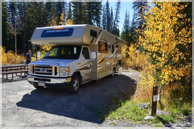 Grand Mesa National Forest - Jumbo CG