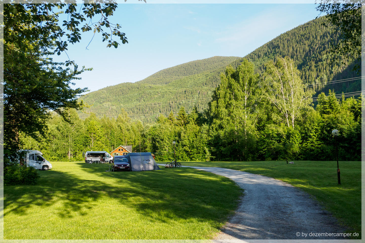 Idylle pur - Camping in Dalen